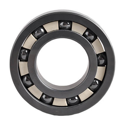 Picture of Naked Silicon Nitride Deep Groove Ceramic Ball Bearing